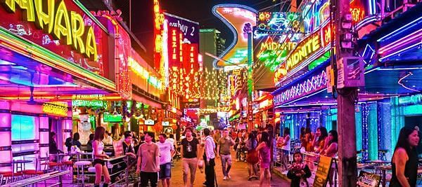 Soi Cowboy 1.5km away from Royal Ivory